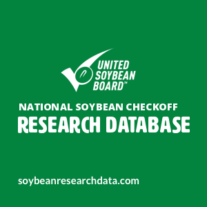 National Soybean Checkoff Research Database